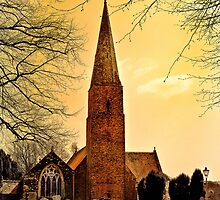 Church of Saint Mary by Catherine Hamilton-Veal  ©