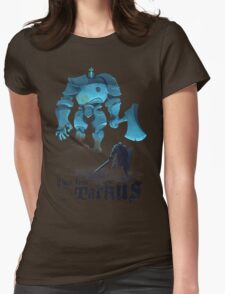 Black Iron Tarkus Womens Fitted T-Shirt