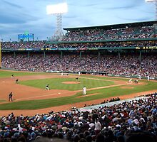 Fenway Park - Red Sox vs. Marlins by Bill Parmentier