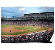 Fenway Park - Red Sox vs. Marlins Poster
