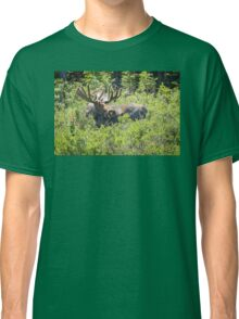 Smiling Bull Moose Classic T-Shirt