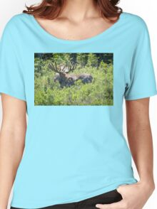 Smiling Bull Moose Women's Relaxed Fit T-Shirt