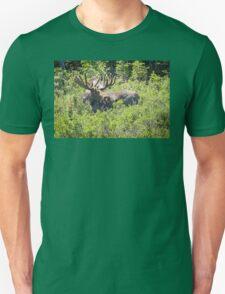 Smiling Bull Moose Unisex T-Shirt