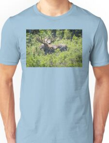 Smiling Bull Moose Unisex T-Shirt