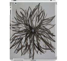 Ink Flower 02 iPad Case/Skin