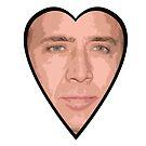 Nicholas Cage Face by Leway13