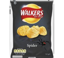 Walkers for Dogs - Spider flavour iPad Case/Skin