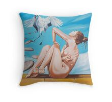 """the landing the """"last days with my beloved"""" Throw Pillow"""