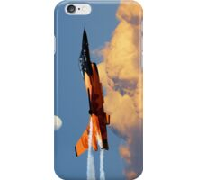 F-16 Solo Display Team iPhone Case/Skin