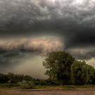 Insane storm over Nuenen, the Netherlands by Mike Olbinski
