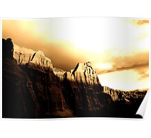 Red Rock Rise Poster