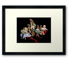 The Friends Framed Print