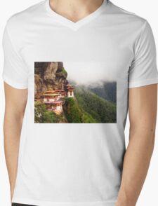 The Tiger's Nest Mens V-Neck T-Shirt