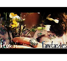 Floral Fantasies - Istead rise Photographic Print
