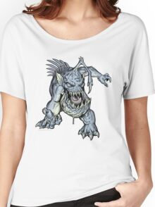 "ZOMBIE FISH Monster ""T-Shirt"" Women's Relaxed Fit T-Shirt"