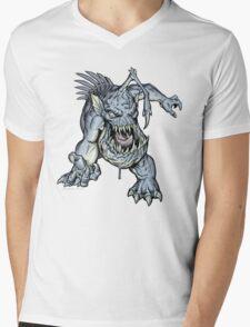 "ZOMBIE FISH Monster ""T-Shirt"" Mens V-Neck T-Shirt"