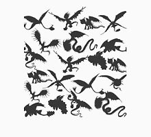 Dragon Silhouette Tee  Unisex T-Shirt