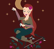 Tauriel the Woodland pin up by prouddaydreamer