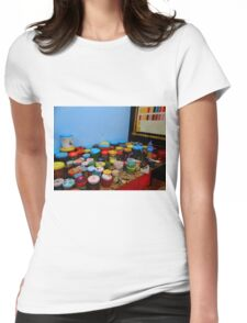 The Painter's Studio Womens Fitted T-Shirt
