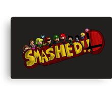 Smashed!! Canvas Print