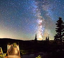 Walking Bridge to The Milky Way by Bo Insogna