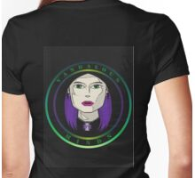 Vm Girl Logo color Womens Fitted T-Shirt