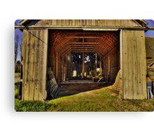 Barn Door Canvas Print