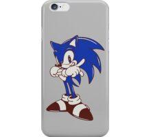 Minimalist Modern Sonic iPhone Case/Skin