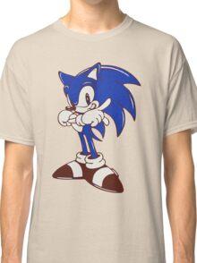 Minimalist Modern Sonic Classic T-Shirt