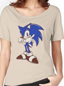 Minimalist Modern Sonic Women's Relaxed Fit T-Shirt