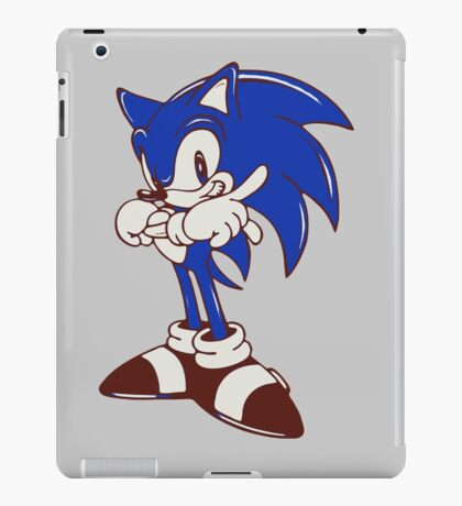 Minimalist Modern Sonic iPad Case/Skin