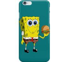 Sponge Bob - Krabby Patty iPhone Case/Skin
