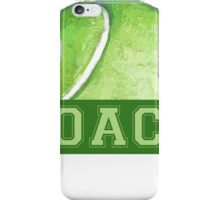 Tennis Coach iPhone Case/Skin