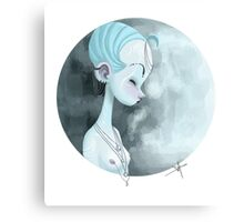 Moon Guardian Canvas Print