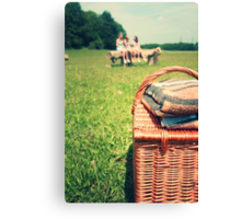 let's go for a picnic Canvas Print