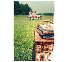 let's go for a picnic Poster