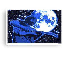 Jerry Moon Canvas Print