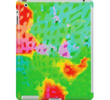 Colorful Abstract Watercolor Painting Background iPad Case/Skin