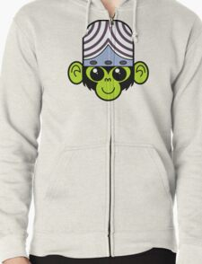 Cute Mojo Jojo Zipped Hoodie