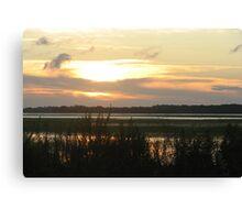 Beyond the Marsh Canvas Print