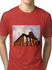 Temple of Athena Tri-blend T-Shirt