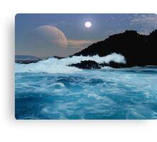 Shipwreck Rocks Canvas Print