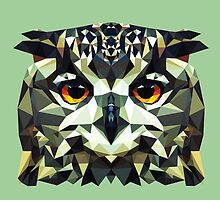 Owl Polygon by miiky
