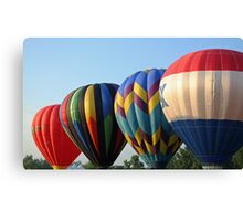 Balloons, Attention!!! Canvas Print