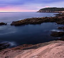 Smooth Water by Otter Cliffs by hawkeye978