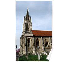 All Saints Church Marlow Poster