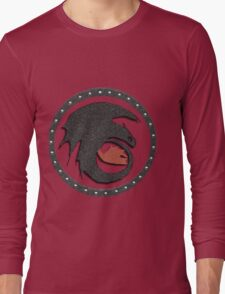 Night Fury Symbol Tee (How To Train Your Dragon Long Sleeve T-Shirt