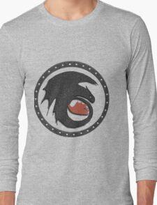 Night Fury Symbol Tee (How To Train Your Dragon Long Sleeve T-Shirt