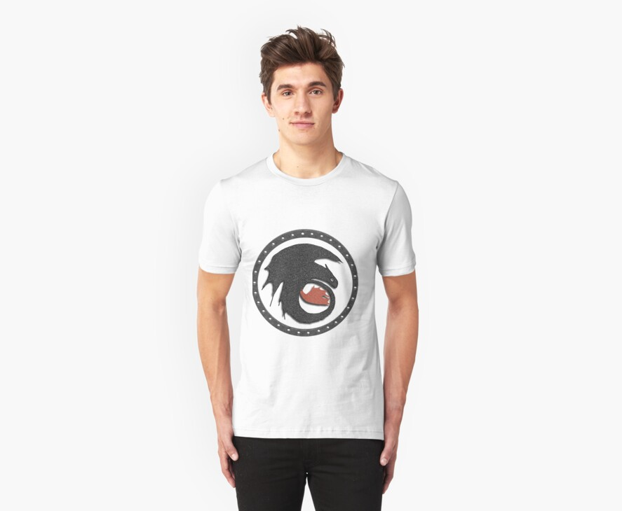 Night Fury Symbol Tee (How To Train Your Dragon by thisisbrooke