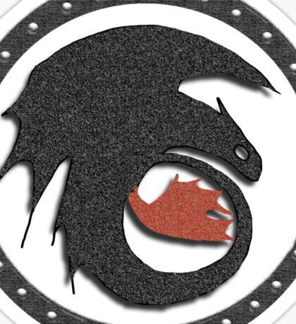 Night Fury Symbol Tee (How To Train Your Dragon Sticker